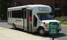 Shuttle bus rentals provided by Reston Limousine