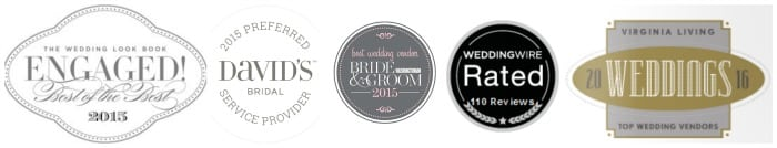 2015 and 2016 Awards for Wedding Transportation