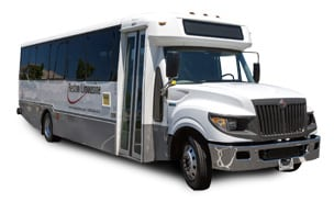 DC minibus rental that can accommodate 20-30 passengers