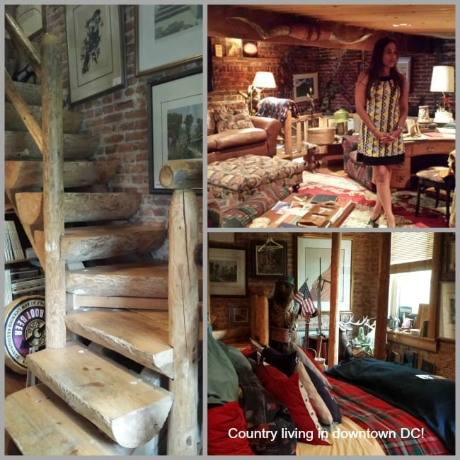 Words Collage Log Cabin