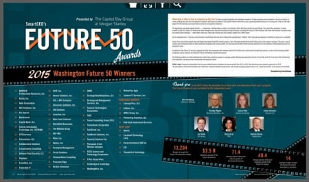 SmartCEO Future 50 page layout