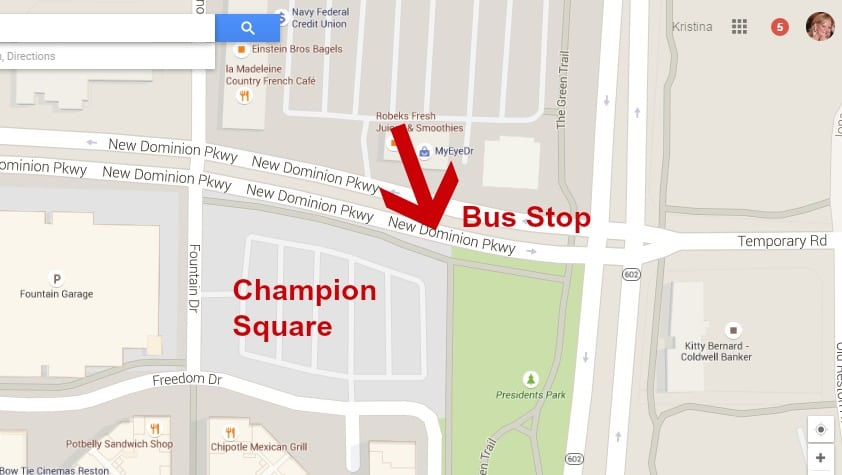Champion Square Google