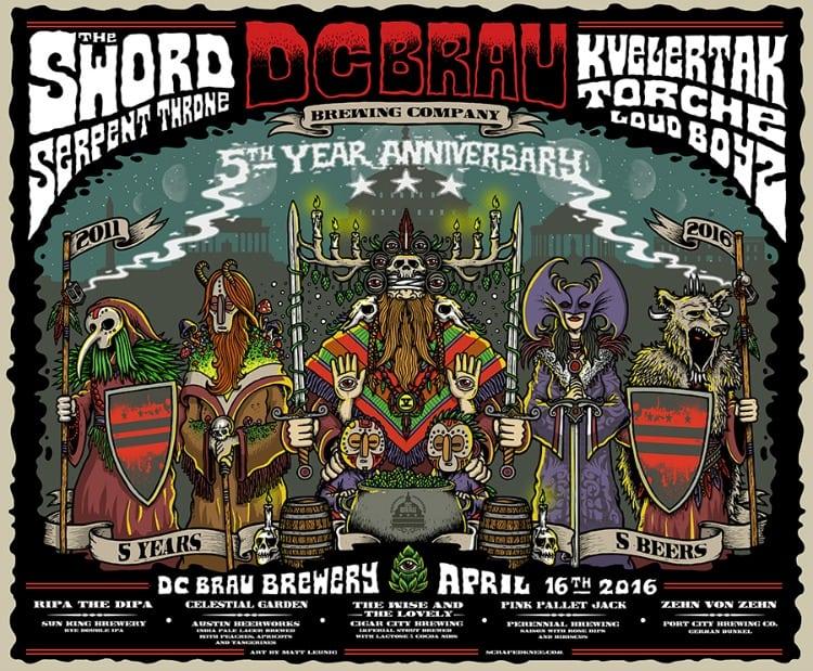 DC Brau 5th anniversary 750