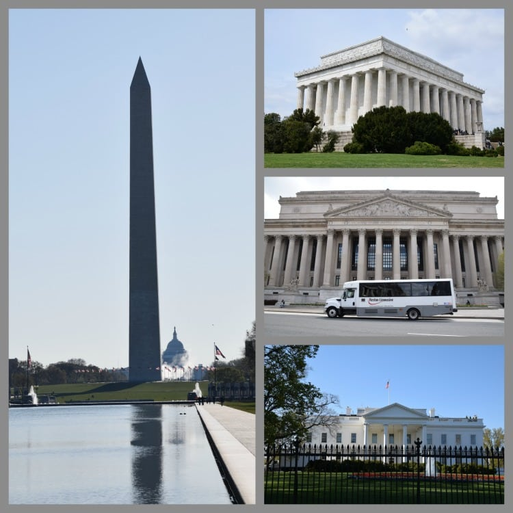 Collage DC monuments