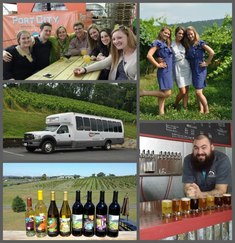 Holiday Gift Ideas Winery Brewery Tour Gift Certificates