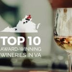 Map of Top Wineries in Virginia
